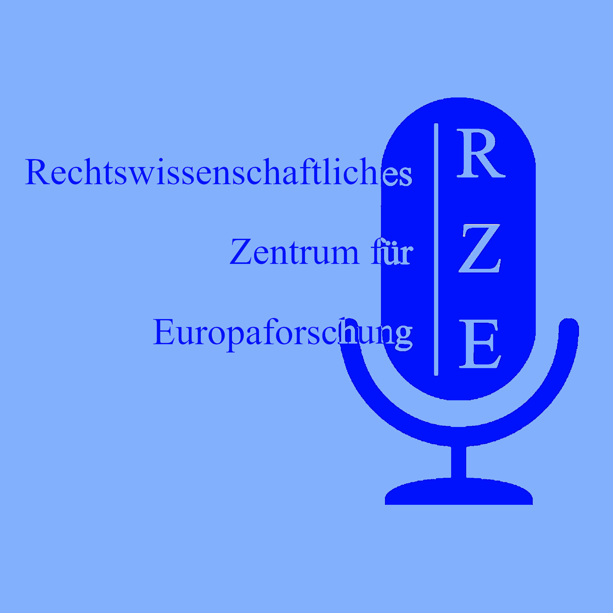 das Logo des Podcasts besteht aus dem Schriftzug und einem stilisierten Mikrofon